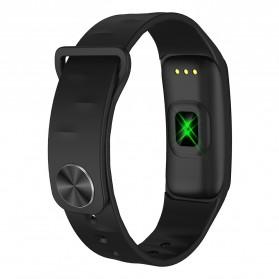 Spovan H01 Smartwatch Bracelet Fitness Tracker Heartrate Monitor - Black - 2