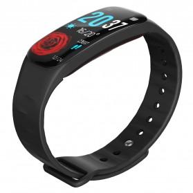 Spovan H01 Smartwatch Bracelet Fitness Tracker Heartrate Monitor - Black - 3