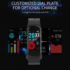 Spovan H01 Smartwatch Bracelet Fitness Tracker Heartrate Monitor - Black - 7