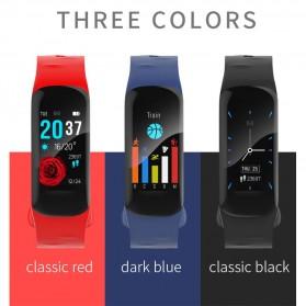 Spovan H01 Smartwatch Bracelet Fitness Tracker Heartrate Monitor - Black - 9