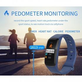 Spovan H01 Smartwatch Bracelet Fitness Tracker Heartrate Monitor - Black - 10