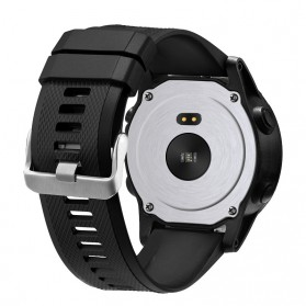 SPOVAN Sporty Smartwatch Jam Tangan Heart Rate Calorie Pedometer - SW003 - Black - 3