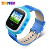 Smartwatch / Apple Watch - SKMEI Kids Monitoring Smartwatch LCD Screen with GPS + SOS Function - 1166 - Blue