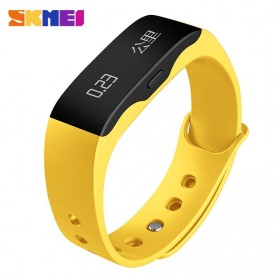 SKMEI Jam Tangan OLED Gelang Smartwatch Fitness Notification - L28T - Yellow