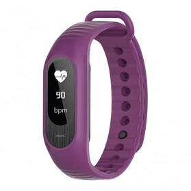 SKMEI Jam Tangan LED Gelang Fitness Tracker - B15P - Purple