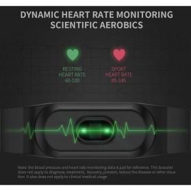 SKMEI Jam Tangan LED Gelang Fitness Tracker - B15P - Black - 3
