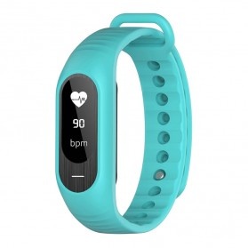 SKMEI Jam Tangan LED Gelang Fitness Tracker - B15P - Light Blue