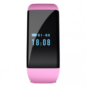 SKMEI Smartwatch Wristband LED - D21 - Pink