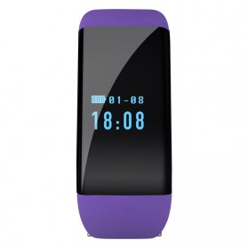 SKMEI Smartwatch Wristband LED - D21 - Purple