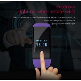 SKMEI DFit Smartwatch Wristband LED - D21 - Purple - 4