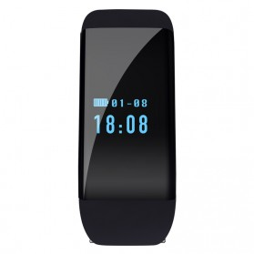 SKMEI DFit Smartwatch Wristband LED - D21 - Black