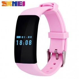 SKMEI DFit Smartwatch Wristband LED - D21 - Black - 2