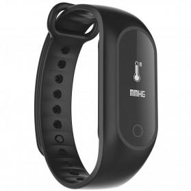 SKMEI Jam Tangan LED Gelang Fitness Tracker - B15S-D - Black