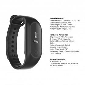 SKMEI Jam Tangan LED Gelang Fitness Tracker - B15S-D - Black - 6