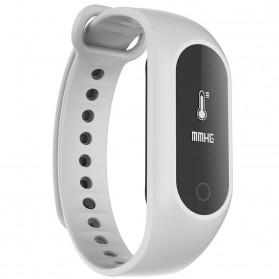SKMEI Jam Tangan LED Gelang Fitness Tracker - B15S-D - White