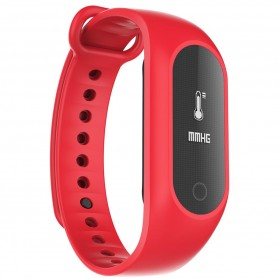 SKMEI Jam Tangan LED Gelang Fitness Tracker - B15S-D - Red