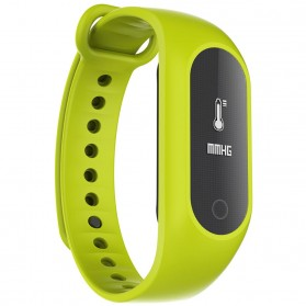 SKMEI Jam Tangan LED Gelang Fitness Tracker - B15S-D - Green