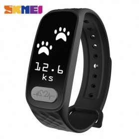 SKMEI Jam Tangan LED Gelang Fitness Tracker - B20 - Black