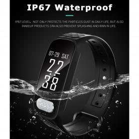SKMEI Jam Tangan LED Gelang Fitness Tracker - B20 - Black - 8