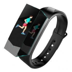 SKMEI Jam Tangan LED Gelang Fitness Tracker - B30 - Black - 2