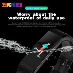 SKMEI Jam Tangan LED Gelang Fitness Tracker - B30 - Black - 4
