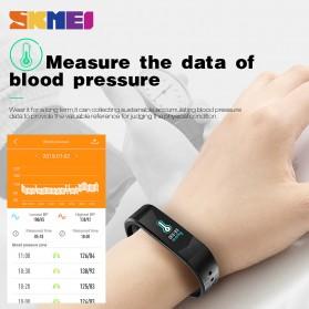SKMEI Jam Tangan LED Gelang Fitness Tracker - B30 - Black - 6