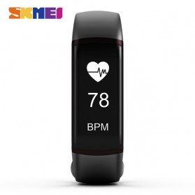 SKMEI Jam Tangan LED Gelang Fitness Tracker Heartrate Monitor - B19 - Black