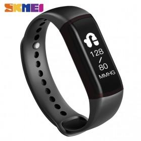 SKMEI Jam Tangan LED Gelang Fitness Tracker Heartrate Monitor - B19 - Black - 2