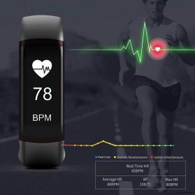 SKMEI Jam Tangan LED Gelang Fitness Tracker Heartrate Monitor - B19 - Black - 3