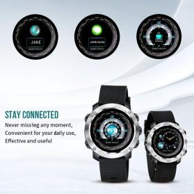 SKMEI Bozlun Smartwatch Jam Tangan Heart Rate Calorie - W30P - Black - 4