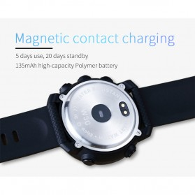 SKMEI Bozlun Smartwatch Jam Tangan Heart Rate Calorie - W30P - Black - 6