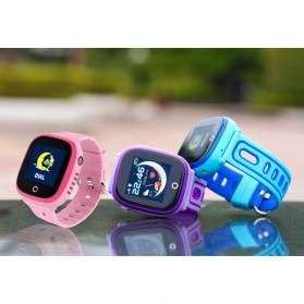 SKMEI Kids Monitoring Smartwatch LCD Screen with GPS + SOS Function - DF31G - Purple - 5