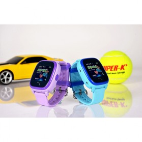 SKMEI Kids Monitoring Smartwatch LCD Screen with LBS + SOS Function - DF25 - Purple - 4