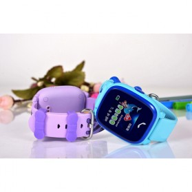 SKMEI Kids Monitoring Smartwatch LCD Screen with LBS + SOS Function - DF25 - Purple - 5