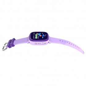 SKMEI Kids Monitoring Smartwatch LCD Screen with LBS + SOS Function - DF25 - Purple - 6