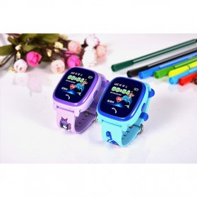 SKMEI Kids Monitoring Smartwatch LCD Screen with LBS + SOS Function - DF25 - Purple - 8