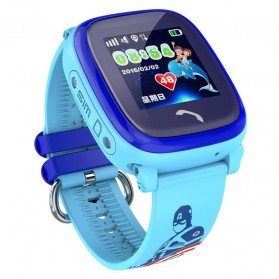 SKMEI Kids Monitoring Smartwatch LCD Screen with LBS + SOS Function - DF25 - Blue