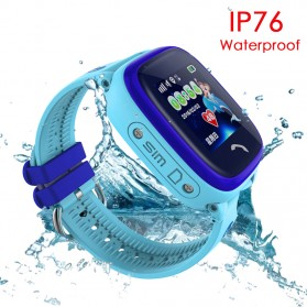 SKMEI Kids Monitoring Smartwatch LCD Screen with LBS + SOS Function - DF25 - Blue - 2