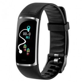 SKMEI Jam Tangan LED Gelang Fitness Tracker Heartrate Monitor - B32 - Black
