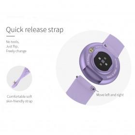 SKMEI Smartwatch Jam Tangan LED Heartrate Monitor - B36 - Pink - 7