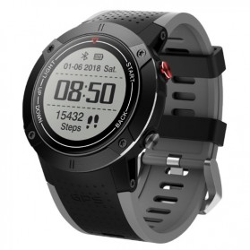 SKMEI Bozlun Sport Watch for Outdoor GPS Positioning Traveling - W33 - Gray