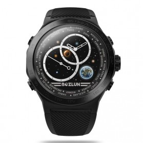 SKMEI Bozlun Smartwatch Galaxy Jam Tangan Heart Rate Multifunction - W31 - Black