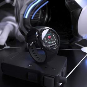 SKMEI Bozlun Smartwatch Galaxy Jam Tangan Heart Rate Multifunction - W31 - Black - 3