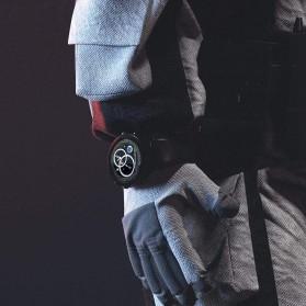 SKMEI Bozlun Smartwatch Galaxy Jam Tangan Heart Rate Multifunction - W31 - Black - 4