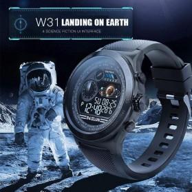 SKMEI Bozlun Smartwatch Galaxy Jam Tangan Heart Rate Multifunction - W31 - Black - 6