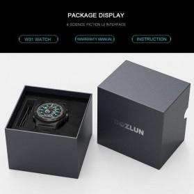 SKMEI Bozlun Smartwatch Galaxy Jam Tangan Heart Rate Multifunction - W31 - Black - 8