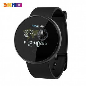 SKMEI Bozlun Smartwatch Jam Tangan LED Bluetooth Heartrate Monitor - B36M - Black
