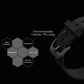 SKMEI Bozlun Smartwatch Jam Tangan LED Bluetooth Heartrate Monitor - B36M - Black - 12