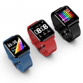 SKMEI Smartwatch Jam Tangan Pintar LED Bluetooth Heartrate Monitor - L8 - Black - 2