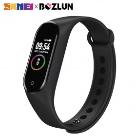SKMEI Smartwatch Jam Tangan Pintar LED Bluetooth Heartrate Monitor - M4 - Black